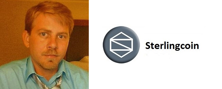 Steven Saxton, Sterlingcoin developer