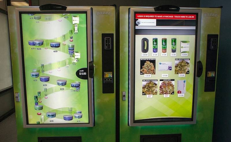 Zazzz cannabis vending machine