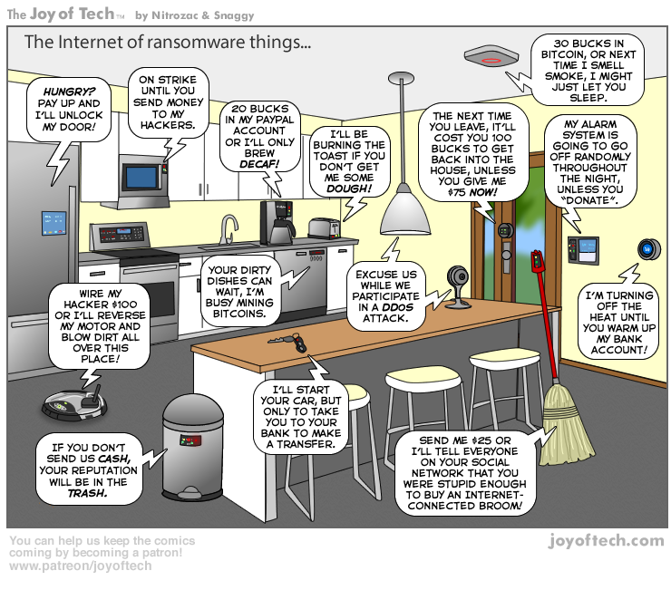 The Internet of Ransomware Things…