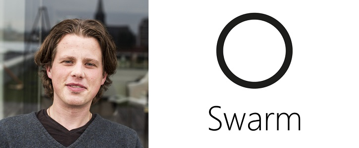 Joel Dietz, the founder and CEO of Swarm