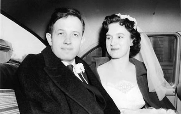 John Nash and his wife