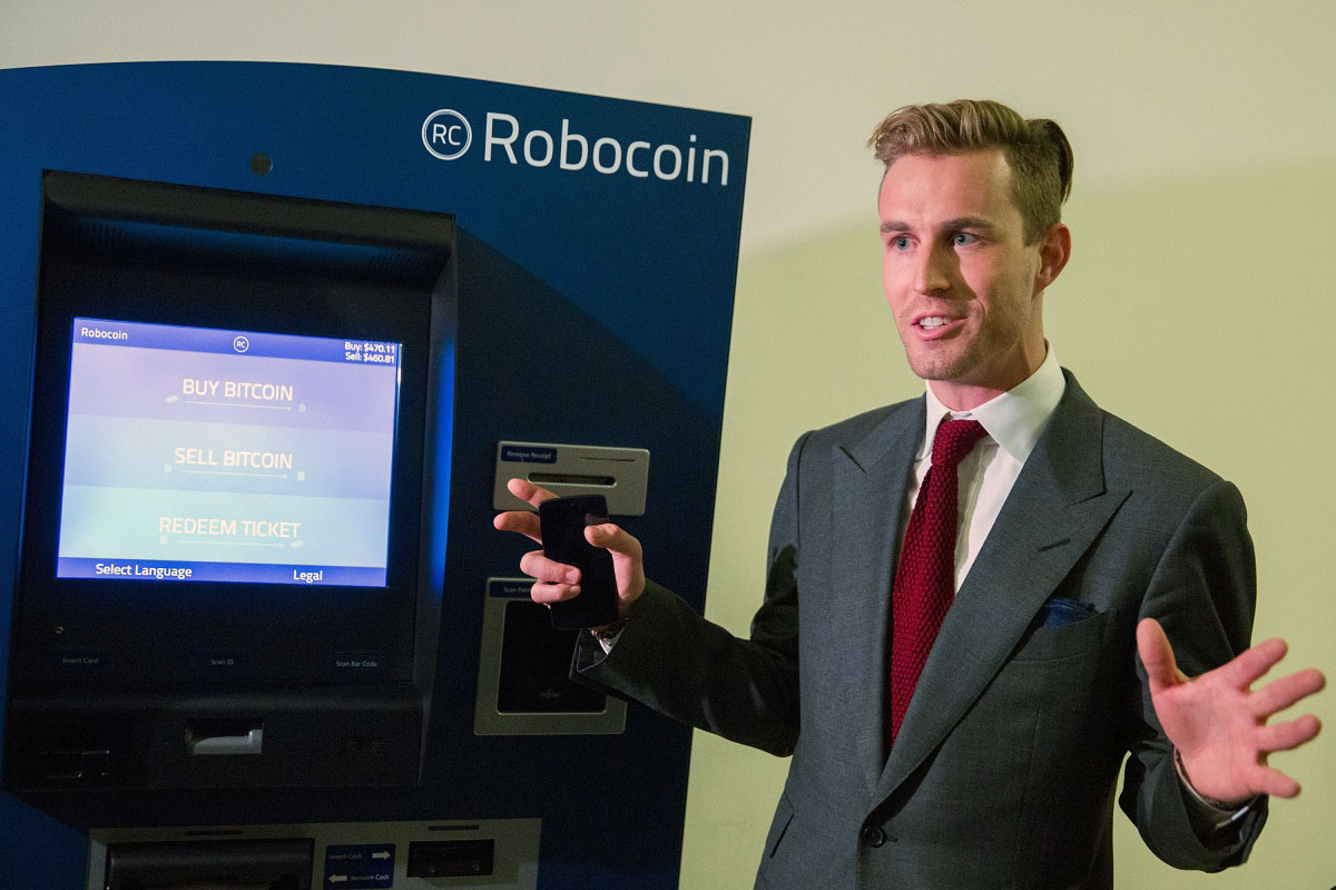 Jordan Kelly, CEO Robocoin