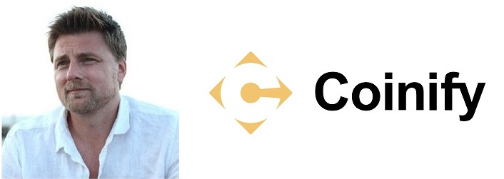 Mark Højgaard, Founder & CEO of Coinify