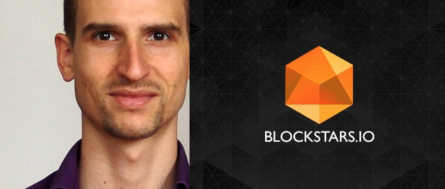 Aron van Ammers, the Founder and CTO at BlockStars.io
