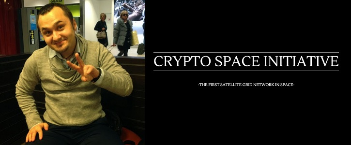 Dumitriu Gabi, the founder of Cryptospaceinitiative.org