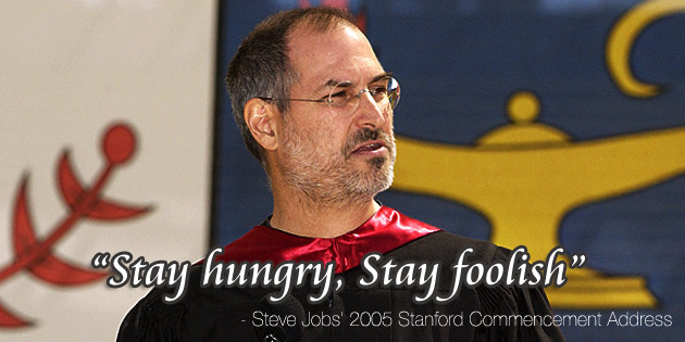 About dreaming: Commencement Address at the Stanford University by Steve Jobs (2015)