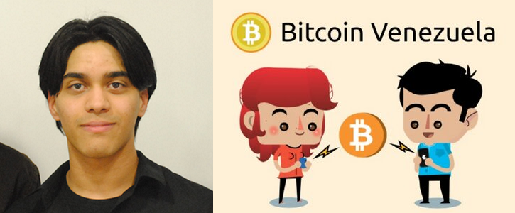 Randy Brito, Founder of Bitcoin Venezuela