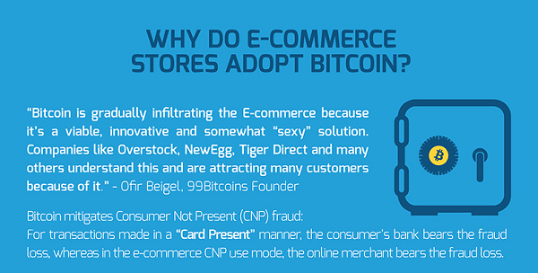 Why e-commerce stores adopt BTC