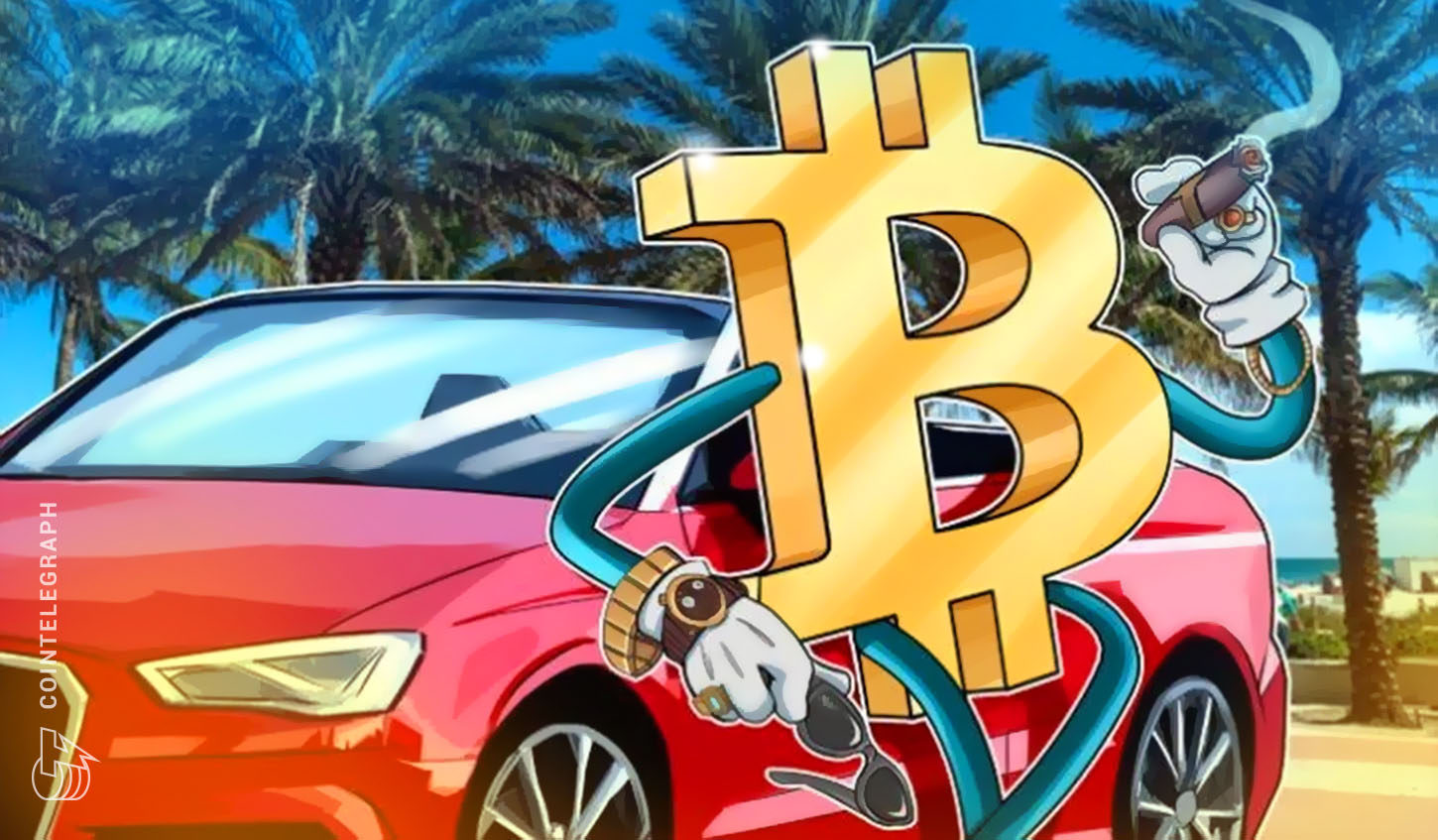 Car and Bitcoin