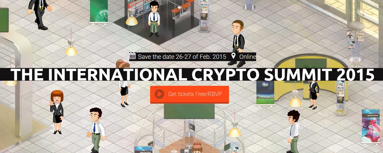 the 2015 International Virtual Crypto Summit is