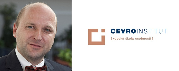 Josef Šíma, rector of CEVRO Institut University
