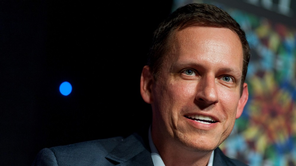 Peter Thiel was invited to the University of Chicago Booth School of Business