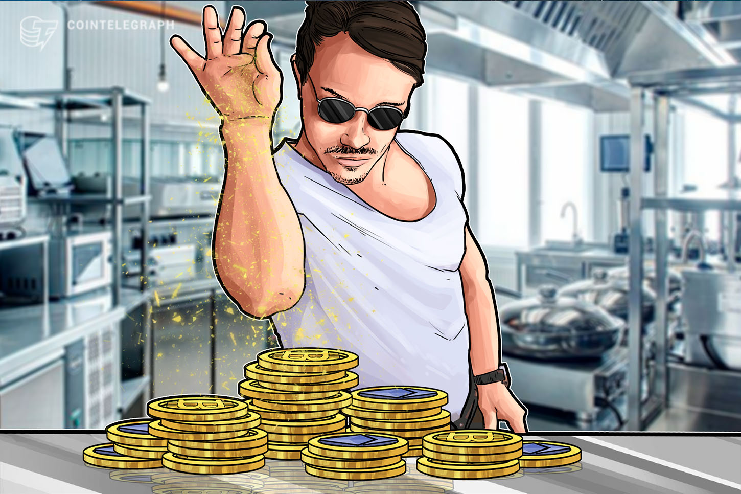 A cook making an ICO