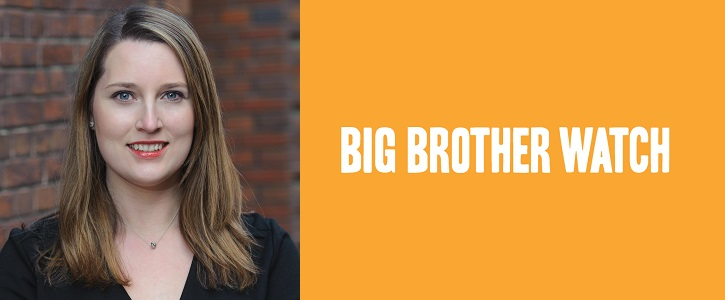 Director of Big Brother Watch, Emma Carr