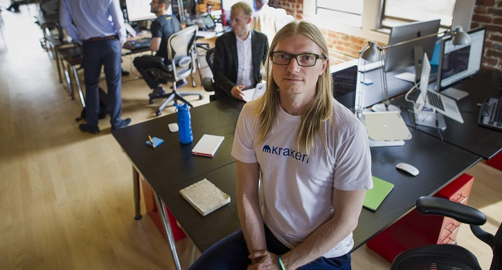 Jesse Powell, co-founder and CEO, Kraken