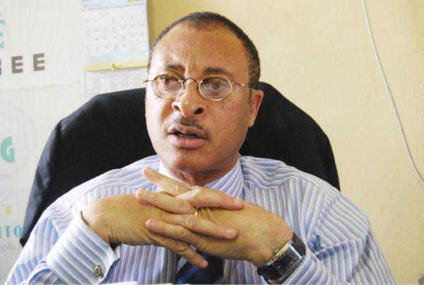 Pat Utomi, Nigerian professor of political economy and a management expert.