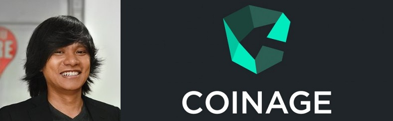 Coinage CEO and co-founder, Anthony Giovanni Chua