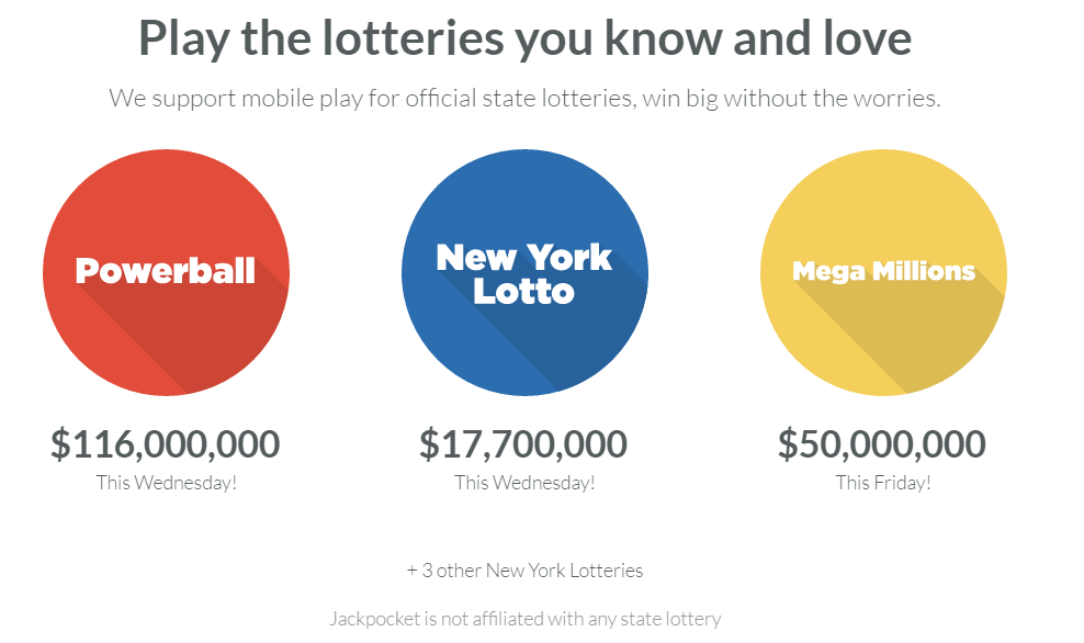 Purchase Lottery Tickets with Bitcoin