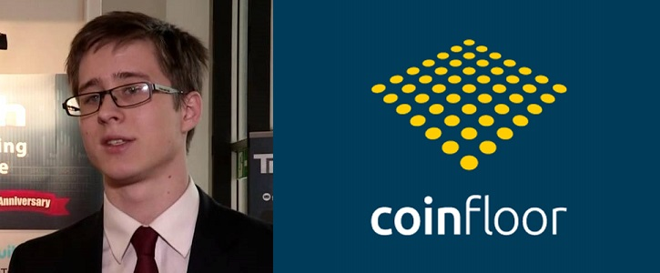 Coinfloor CEO, Mark Lamb