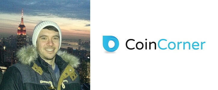 CoinCorner co-founder Daniel Scott