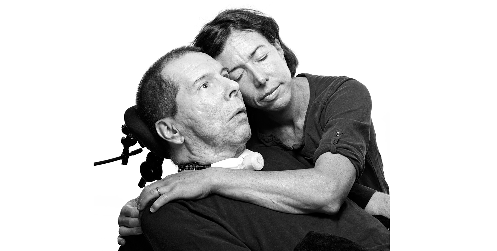 Hal Finney and his wife