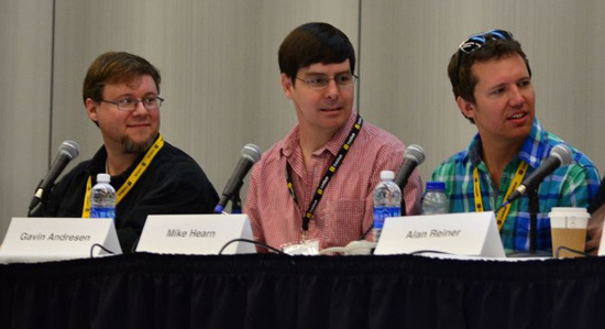 Jeff Garzik, Gavin Andresen and Mike Hearn
