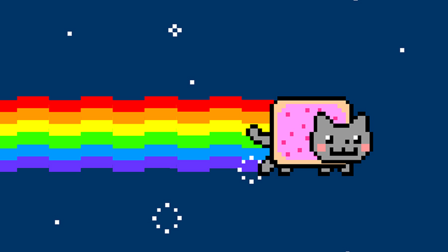 The Lively Kitty Called Nyan Cat