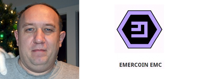 Oleg Khovayko, one of the cofounders of Emercoin