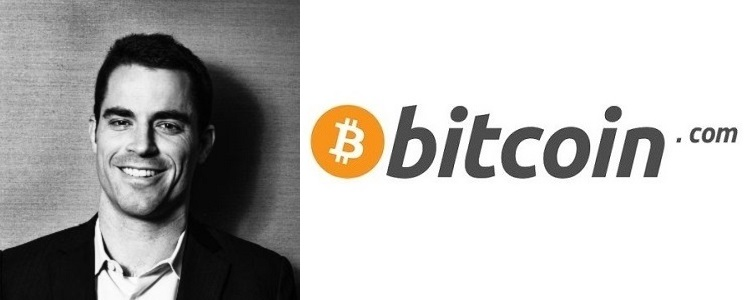 Roger Ver, the owner of bitcoin.com