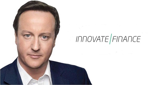 David Cameron and Innovate Finance