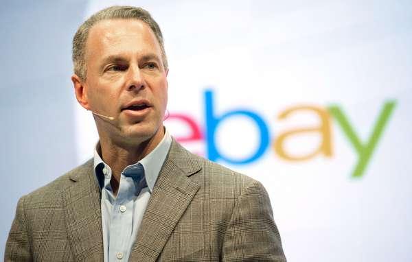 Online commerce giant eBay President Devin Wenig