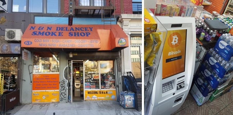 Secure BTM operator CoinSource opened the first Bitcoin ATM in New York