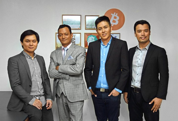 SCI co-founders: John Bailon, Nick Galan, Jardine Gerodias and Miguel Cuneta
