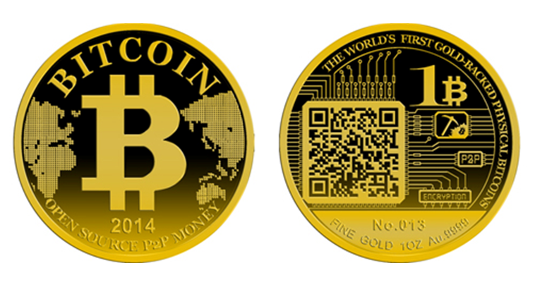 Pure Gold Physical Bitcoins Minted In China Cointelegraph
