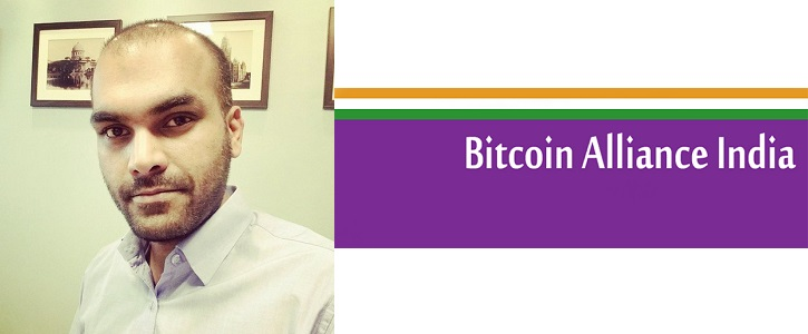 Vishal Gupta, Founder of Bitcoin Alliance India, CEO at SearchTrade, Director at Moving Trumpet
