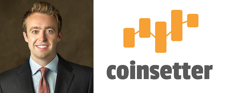 Coinsetter CEO, Jaron Lukasiewicz